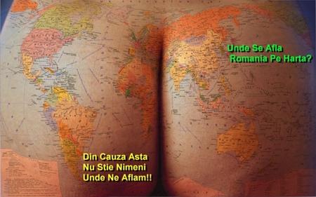 romania pe harta