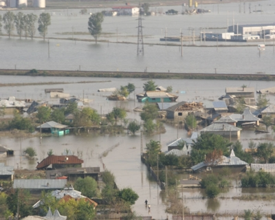 inundatii in Romania 2009