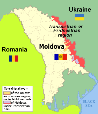 Transnistrian.Region.Map