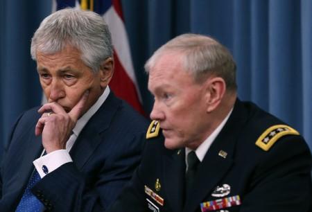 Hagel.Dempsey.Pentagon-concerning.Romania